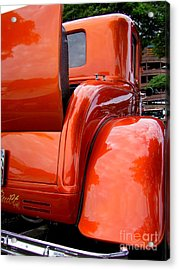 Ford V8 Rear View With Rumble Seat Acrylic Print
