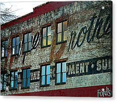 Fords Restaurant In Greenville Sc Acrylic Print