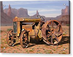 Fordson Tractor Acrylic Print by Mike McGlothlen