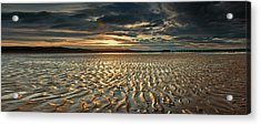Foreshore At Dusk Acrylic Print
