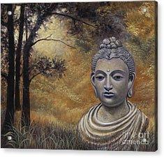 Forest Buddha Acrylic Print