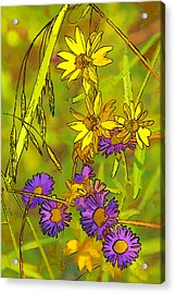 Forest Flora Acrylic Print