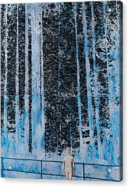 Forest Four Hours Of Daylight Acrylic Print by Graham Dean