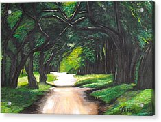 Forest Full Of Trees Acrylic Print by Melissa Torres