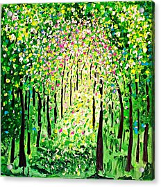 Forest Gifts Acrylic Print