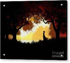 Forest Glen Acrylic Print by Robert Foster