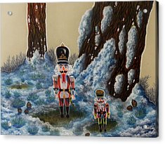 Forest Guardians Acrylic Print