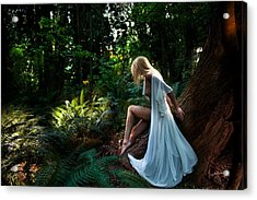 Forest Nymph 2 Acrylic Print