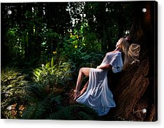 Forest Nymph 3 Acrylic Print