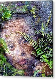 Forest Nymph Acrylic Print