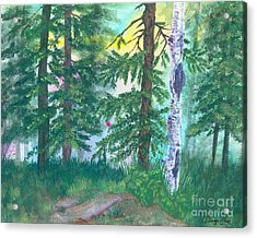 Forest Of Memories Acrylic Print by Denise Hoag