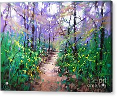 Forest Of Summer Acrylic Print
