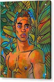 Forest Spirit 2 Acrylic Print by Douglas Simonson