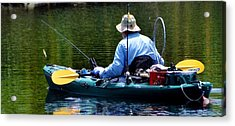 Acrylic Print featuring the photograph Forever Fishing by Pamela Blizzard
