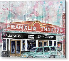 Forever Franklin Acrylic Print by Tim Ross