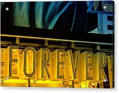 Forever Acrylic Print by Karol Livote