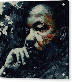 Forgiveness Is Not An Occasional Act It Is A Constant Attitude Acrylic Print by Paul Lovering