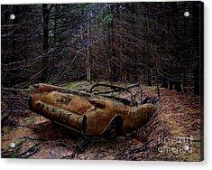 Forgotten 54 Acrylic Print by Tom Straub