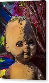 Forgotten Baby Doll Acrylic Print by Garry Gay