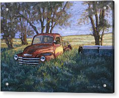 Forgotten But Still Good Acrylic Print by Jerry McElroy