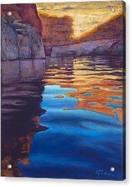 Forgotten Canyon Acrylic Print