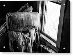 Forgotten Chair By The Window Acrylic Print by Nathan Hillis