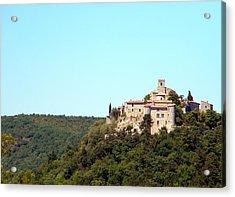Forgotten Chateau Acrylic Print