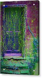 Forgotten Doorway Acrylic Print by Tony Grider