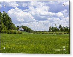 Forgotten Farm Acrylic Print by Dan Hefle