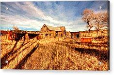 Forgotten Farm Acrylic Print