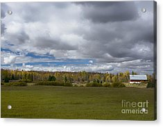 Forgotten Farm II Acrylic Print by Dan Hefle