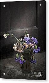 Forgotten Flowers Acrylic Print by Svetlana Sewell