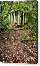 Forgotten Folly Acrylic Print by Adrian Evans