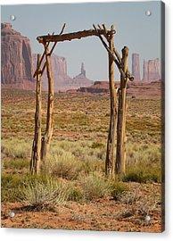 Forgotten Gateway Acrylic Print by Diane Bohna