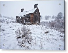 Forgotten In Time Acrylic Print by Darren  White