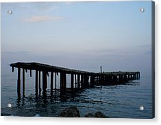 Acrylic Print featuring the photograph Forgotten by Jon Emery