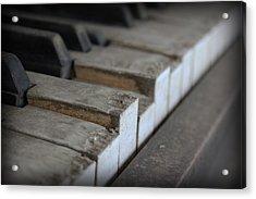 Acrylic Print featuring the photograph Forgotten Keys by Kelly Hazel