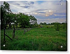 Acrylic Print featuring the photograph Forgotten But Not Gone by Shirley Heier