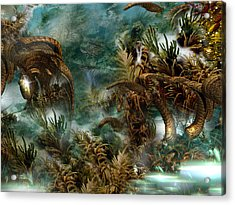 Forgotten Realm Acrylic Print by Phil Sadler