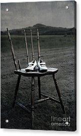 Forgotten Shoes Acrylic Print by Svetlana Sewell