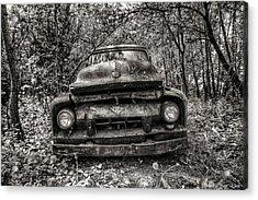 Forgotten Truck Acrylic Print by Michaela Preston