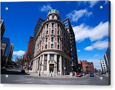 Acrylic Print featuring the photograph Fork Albany N Y by John Schneider