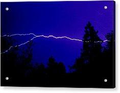 Forked Lightning Acrylic Print by Alfredo Martinez