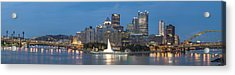 Forks Of The Ohio Acrylic Print by Jennifer Grover