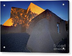 Form And Shadow--san Francisco De Asis - Color Acrylic Print