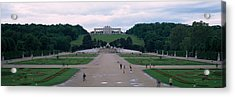 Formal Garden In Front Of A Palace Acrylic Print by Panoramic Images