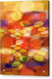 Formation Acrylic Print by Lutz Baar
