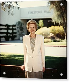 Former First Lady Betty Ford Posing Acrylic Print
