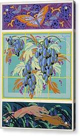 Formes Et Couleurs Acrylic Print