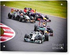 Formula 1 Grand Prix Silverstone Acrylic Print